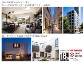 「グッドデザイン賞」 集合住宅部門で業界最長18年連続受賞