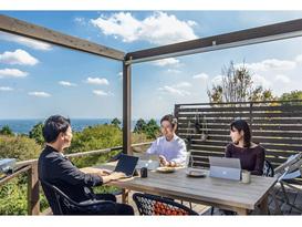 茨城県笠間市との公民連携事業・アウトドアリゾート『ETOWA KASAMA』でチームで健康的・創造的に働ける場となる『OUT WORK』を提供開始