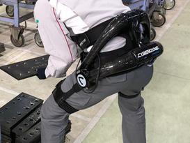 「ロボットスーツ「HAL®腰タイプ作業支援用」を全工場に導入