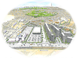 「AGCテクノグラス中山事業場」跡地での大規模複合開発プロジェクト概要決定