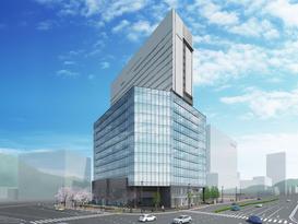 広島市東区二葉の里5街区で開発する複合施設「GRANODE(グラノード)広島」に名称決定