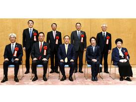 令和2年度「女性が輝く先進企業表彰」において「内閣府特命担当大臣(男女共同参画)表彰」を受賞しました