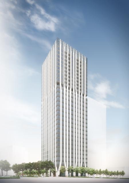 地上29階建「Dタワー西新宿」着...