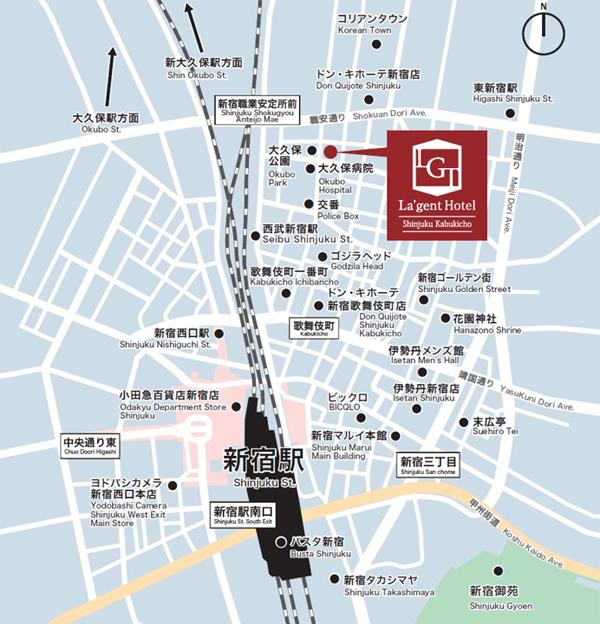 ジェント 伎 ラ 歌舞 ホテル 新宿